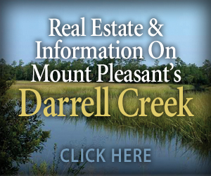 Real Estate and information on Mount Pleasant's Darrell Creek